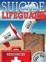 Suicide Prevention Lifeguard App Materials and Brochure
